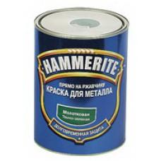 Фарба Hammerite молоткова (зелена 6730) 0,7л