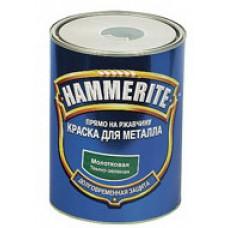 Фарба Hammerite молоткова (темно-зелена 6662) 0,7л